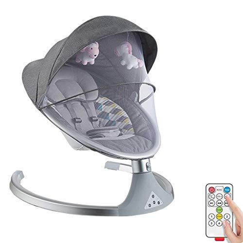 YYLVM Moisés, los ejes de balancín de bebé eléctricos y hamacas con...