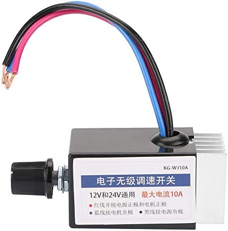 Universal DC 12V 24V Motor Speed Controller Switch for Car Truck Fan Heater Control Regulator product image