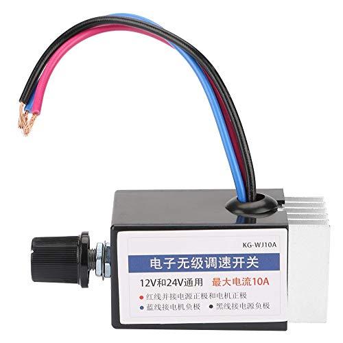 Regulador de velocidad del motor CC 12 V 24 V para ventilador de coche o camión.