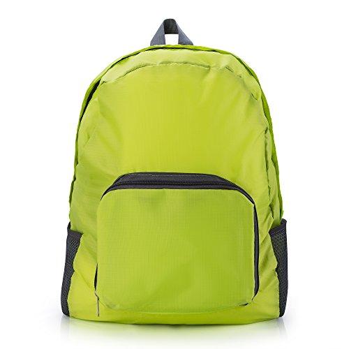 Rusty Bob - Rucksack für Reisen | sehr leicht und wasserfest | Damen und Herren (Green)