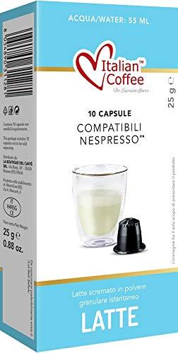 Capsulas Compatibles Nespresso Leche en Polvo Soluble 60 unidades