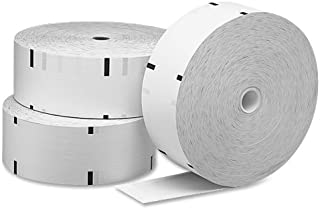 PM Company 06565 Paper Rolls for Diebold Ix Series Atms, 4 Rolls/Carton, 3-5/32