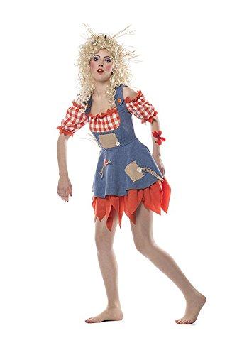 TH-MP Vogelscheuchen Kostüm Damen und Herren Paarkostüm Fasching Karneval Halloween (Vogelscheuche Herren, 46)
