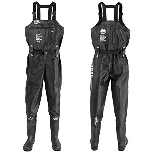 DRESS 「フェルトスパイク」ウェーダー チェストハイウェーダー AIRBORNE XXL フェルトスパイク【身長】180~185 【ブーツ】28~28.5