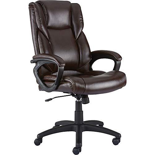 Staples 2554454 Kelburne Luxura Office Chair Brown