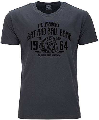 Arn Sportswear Legandary Ball Game Iron Grey - Camiseta (talla grande), color...