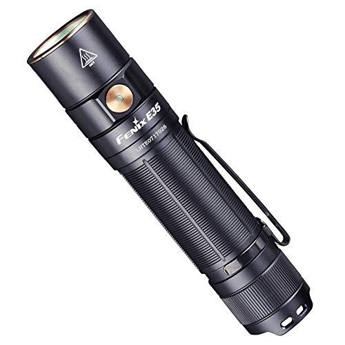 Fenix E35 V3.0 21700 - Torcia elettrica, colore: Nero