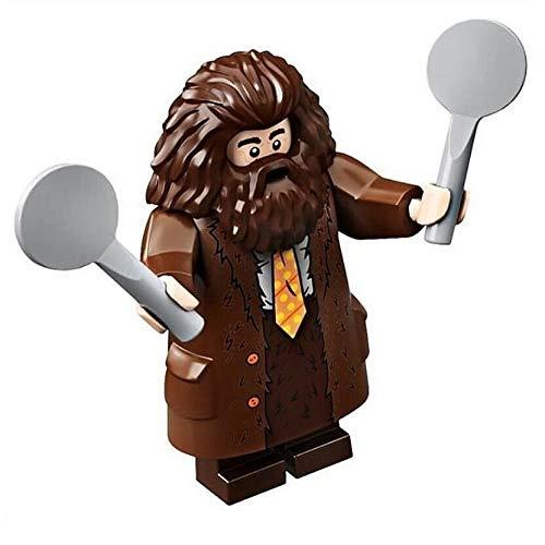 LEGO Harry Potter Hagrid cravatta gialla Minifigura divisa in 75958 (Insacchettato)