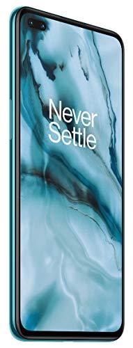 OnePlus NORD (5G) 8GB RAM 128GB Smartphone ohne Vertrag, Quad Kamera, Dual SIM. Jetzt mit Alexa Built-in - 2 Jahre Garantie - Blue Marble - 5