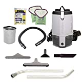 ProTeam Backpack Vacuums, ProVac FS 6 Commercial Backpack Vacuum with HEPA Media Filtration and...
