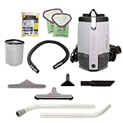 PRODUCTIVE - The extra-long 50-foot power cord allows cleaning of large areas without having to unplug so you can easily maneuver around the kitchen and dining room IMPROVED AIR QUALITY - Four Level Advanced Filtration with HEPA Media Filter captures...