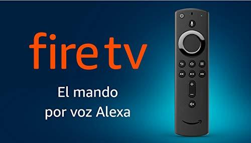 Mando por voz Alexa para el Fire TV, con controles de encendido y volumen, requiere un dispositivo Fire TV compatible