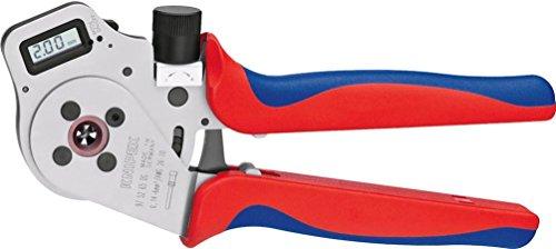 KNIPEX Vierdornpresszange für gedrehte Kontakte (250 mm) 97 52 65 DG