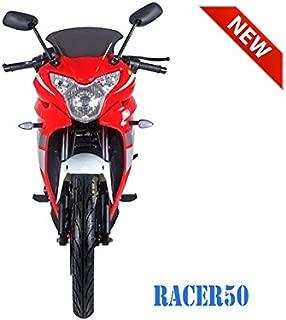 SmartDealsNow 49cc Sports Bike Racer50 Automatic Bike Racer 50 Motorcycle