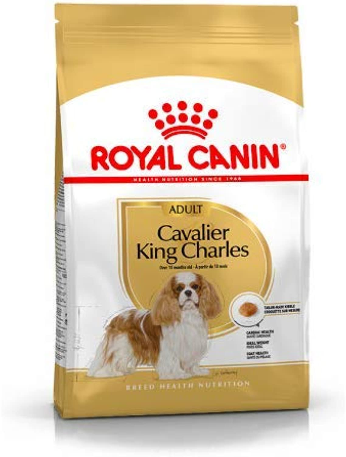 Maltbys' Stores 1904 Limited 7.5kg Royal Canin CAVALIER KING CHARLES ADULT Breed Health Nutrition Dog food