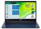 Acer Aspire 3 A315-55G-78A3 Notebook con Processore Intel Core i7-10510U, Ram da 8 GB DDR4, 1024GB PCIe NVMe SSD, Display 15,6' FHD LED LCD, Scheda Grafica NVIDIA GeForce MX230, Windows 10 Home, Blu