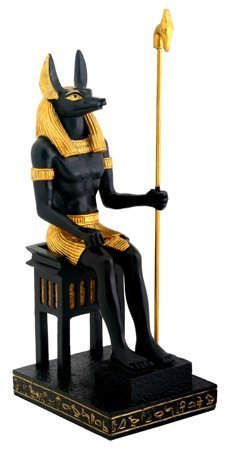 Sitting Anubis Statue - Collectible Figurine Statue Sculpture Figure by Summit