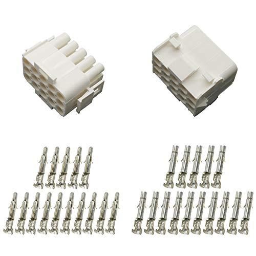 Stecker Set Steckverbinder Universal Mate N Lok 15-polig incl. Kontakten