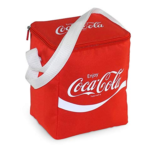 Coca-Cola Classic 5 Kühltasche 5 l für Picknick, kleine Getränke und Snacks