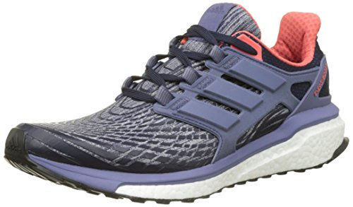 adidas Energy Boost W, Scarpe da Corsa Donna, Blu (Legend Ink F17/super Purple S16/easy Coral S17), 38 EU
