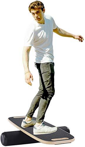 SOPHM5 Balanceboards Balance Board, Wackelbrett Balance Trainer for Fitness mit Roller-Brett Balancing for Surf, Ski, Snowboard, Skateboard und Übung Balance Trainer