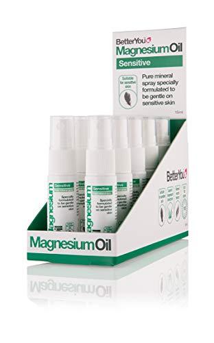 BetterYou Magnesium Oil Sensitive Spray, 10 x 15 ml