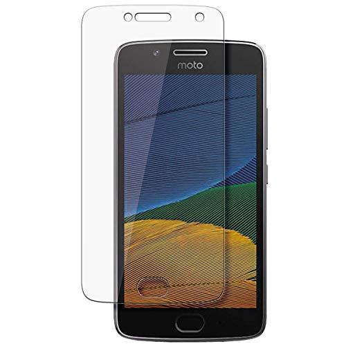 disGuard Schutzfolie für Motorola Moto G5 Plus [2 Stück] Kristall-Klar, Bildschirmschutzfolie, Glasfolie, Panzerglas-Folie, Bildschirmschutz, extrem Kratzfest, Schutz vor Kratzer, transparent