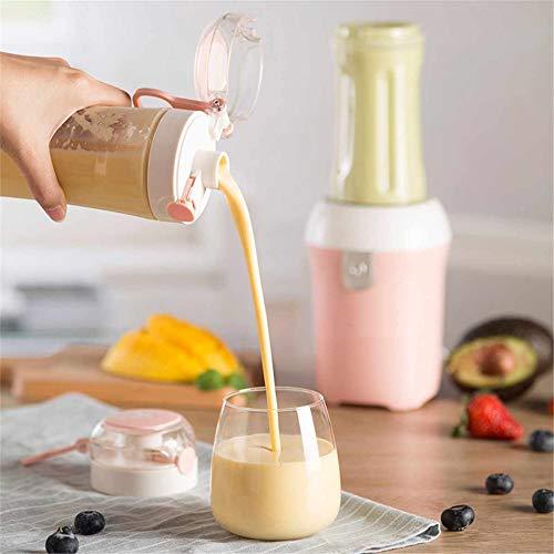 NIUPAN Elektrische fruitpers huishoudelijke USB oplaadbare milkshake machine juicer machine sport waterkoker juicer beker