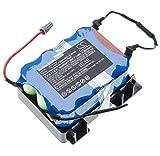 vhbw batteria compatibile con Bosch BBHMOVE1/01, BBHMOVE1/03, BBHMOVE101, BBHMOVE103 aspirapolvere home cleaner (2000mAh, 14.4V, NiMH)