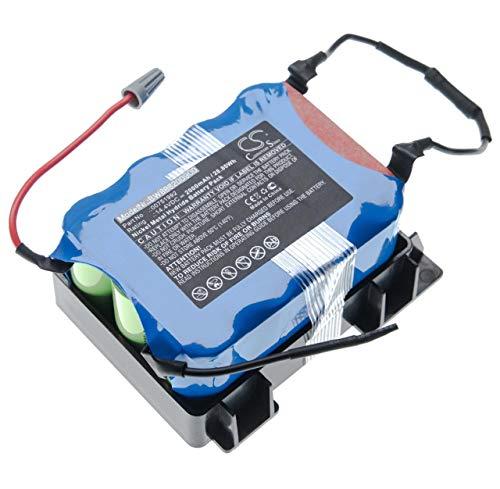 vhbw batería compatible con Bosch BBHMOVE3/03, BBHMOVE301, BBHMOVE3AU/03, BBHMOVE3N/01 aspiradora robot de limpieza (2000mAh, 14.4V, NiMH)