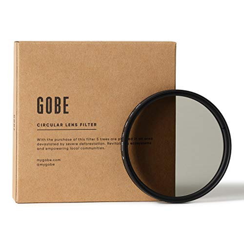 Gobe 62 mm Polfilter (Polarisationsfilter) CPL (1Peak)