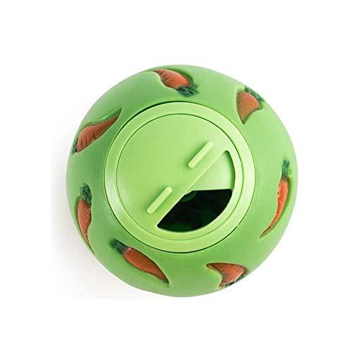 DGSFES Tiernahrungsballspielzeug, undichte Puzzlebälle, sicheres und interaktives Anti-Biss-Spielzeug, Mundpflege für das Haustiertraining 3