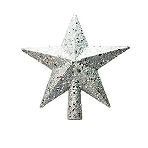 Christmas Tree Topper Snowflake Tree Decorations, Festival Indoor Gift Present for Home Indoor
