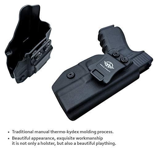 7. IWB Kydex Holster for Glock 19 19X Glock 23 Glock 25 Glock 32 Glock 45 (Gen 3 4 5)