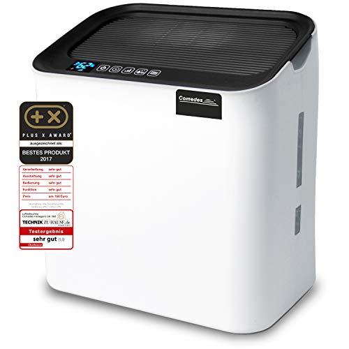 Comedes Hildegard LW360 - Hochwertiger Luftwäscher & Luftbefeuchter inkl. Aktivkohle & HEPA-Element | Räume bis 35m²