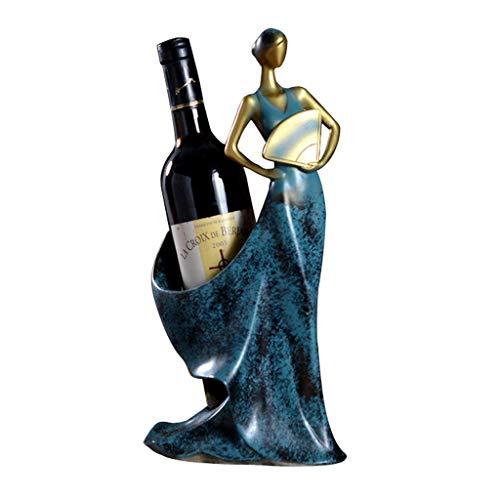 LFDHSF Portabottiglie, Ornamenti per armadi per Vini Portabottiglie Portabottiglie per Vino 18 X 17 X 36 cm