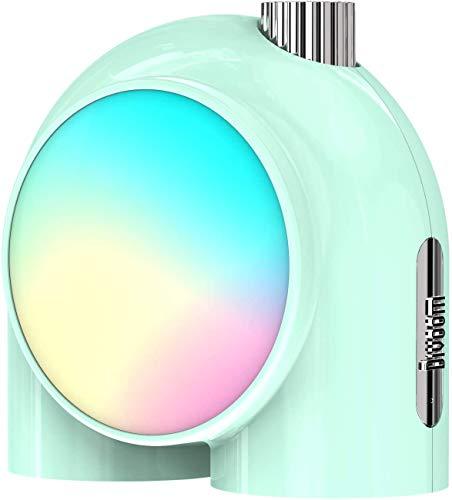 Divoom Planet-9 Smart Wireless Tischlampe, programmierbares Stimmungslicht mit programmierbaren RGB-LED, Nachtlicht für Schlafzimmer, Gaming Room, Büro (Grün)