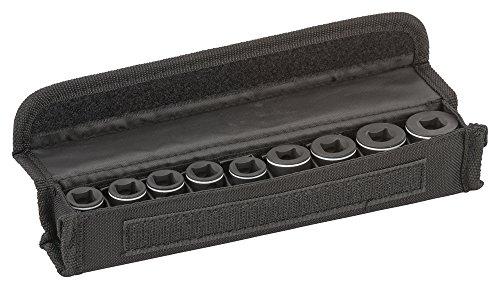 Bosch Professional 2 608 551 098 Pack de 9 Suplementos de Llave de vaso-30 mm (7, 8, 10, 12, 13, 15, 16, 17, 19 mm)