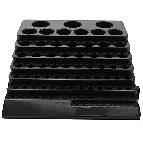 Dciustfhe Caja de almacenamiento de brocas FrrSer para ahorrar espacio, para taladros, acabados, organizador, caja para el hogar, bricolaje, madera