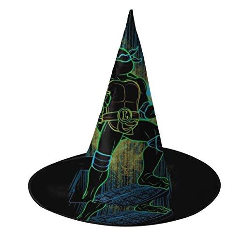 NUJSHF TMNT Shadow of Leonardo Hexenhut Halloween Unisex Kostüm für Urlaub Halloween Weihnachten Karneval Party