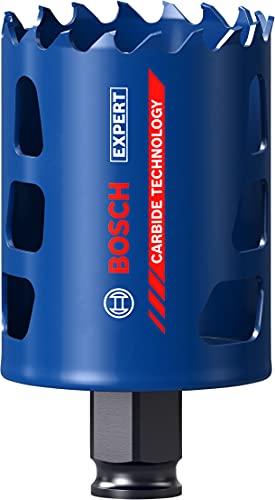 Bosch Professional 1 x Sierras de corona Expert Tough Material, para Madera con metal, 51 mm, Accesorios Taladro de impacto rotativo