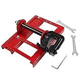 SEAAN Mini-guide de tronçonneuse à chaîne, Rail de guidage du bois pour les ouvriers du bâtiment, Moulin à scie à chaîne scie à chaîne portative Mill contient 1 jeu d'outils d'assemblage