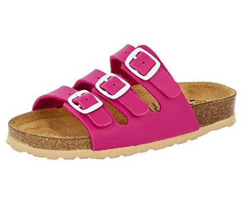 Lico Bioline Kids, Ciabatte Bambina, Rosa (Pink Pink), 35 EU
