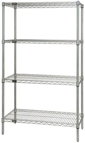 BetterBeds 4-Shelf Stainless New Free Shipping Steel 2021 autumn and winter new Wire 54 Shelving x Unit44; 14