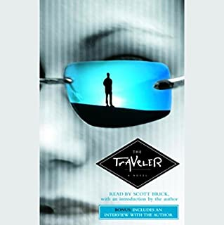 The Traveler audiobook cover art