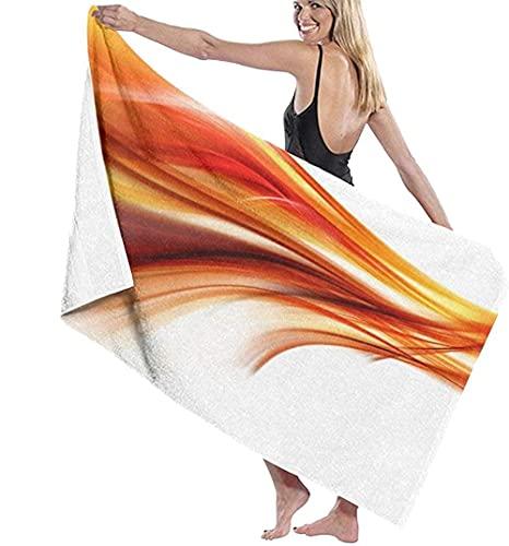 Telo Mare Grande 130 ×80cm, Moderno Contemporaneo Astratto,Asciugamano da Spiaggia in Microfibra Asciugatura Rapida,Ultra Morbido,Uomo,Donna,Bambina