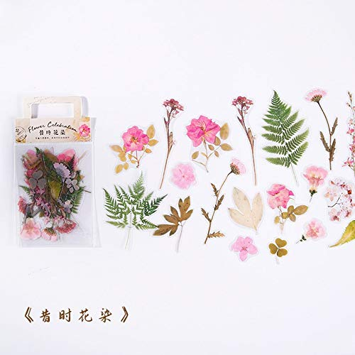 40pcs/lot Kawaii Stationery Stickers flowers Diary Planner Decorative Mobile Stickers Scrapbooking DIY Craft Stickers