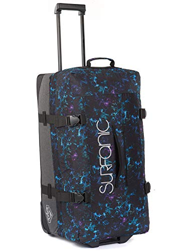 Surfanic Luggage Maxim Roller Bag (100 Litres, Floral Dash)