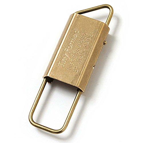 タイニーフォームド Tiny Formed タイニーメタルキーフォールド Tiny metal key fold TM-06S TM-06B ブラス(ゴールド) フリーサイズ