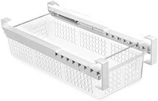 VISGOGO Refrigerator Pull Out Bins Snap On Drawer Fridge Mate Shelves Storage Organizer Refrigerator Storage Box